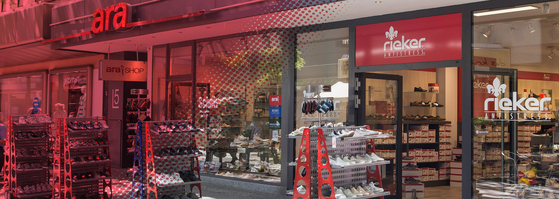 Darmstadt: Schuh Galerie & ara shop in shop Ihre SCHUH oevJB
